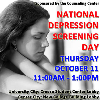 National Depression Screening Day ad