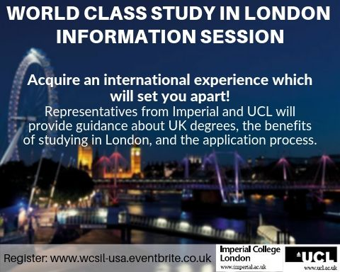 World Class Study in London event image