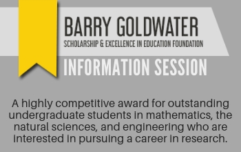 Goldwater info session image