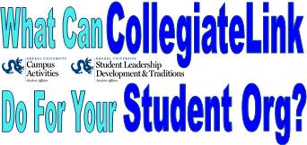 What Can CollegiateLink Do For Your Student Organization?