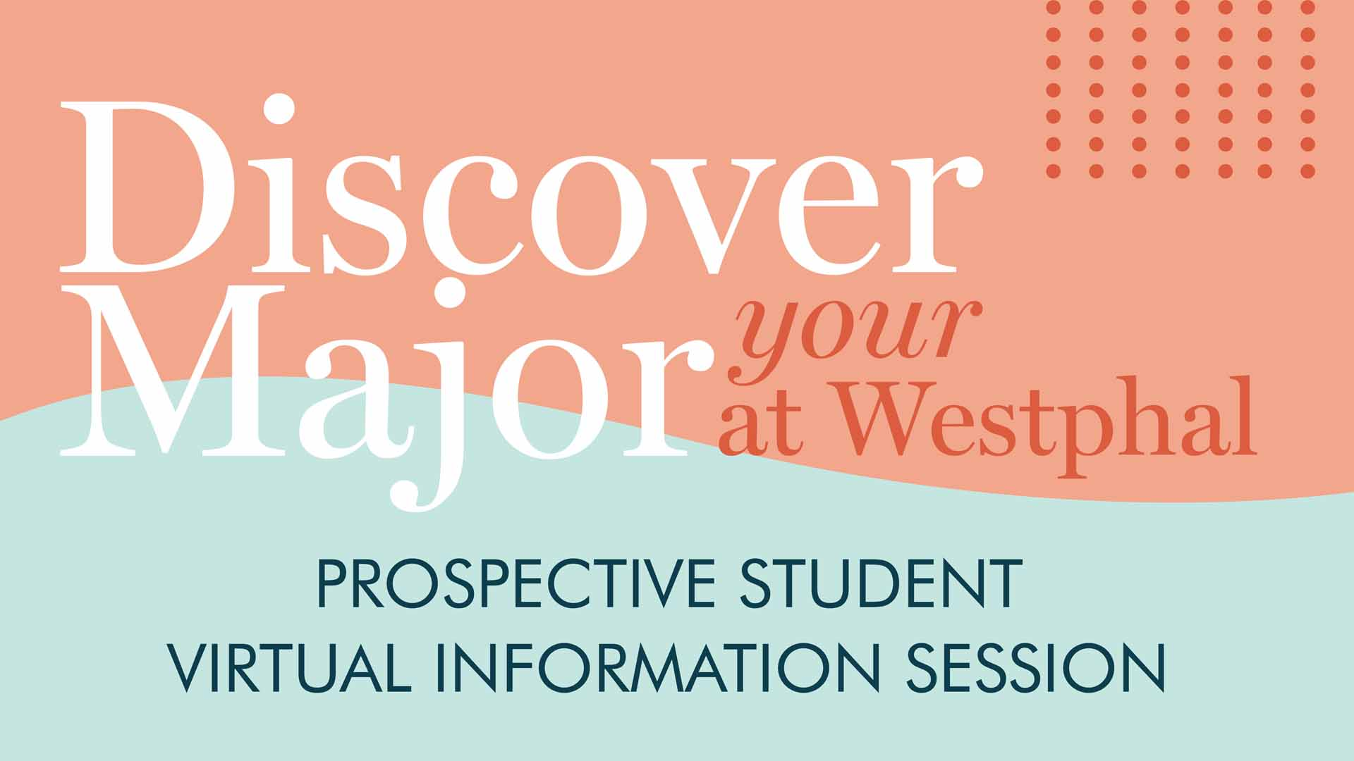 Discover your major at Westphal