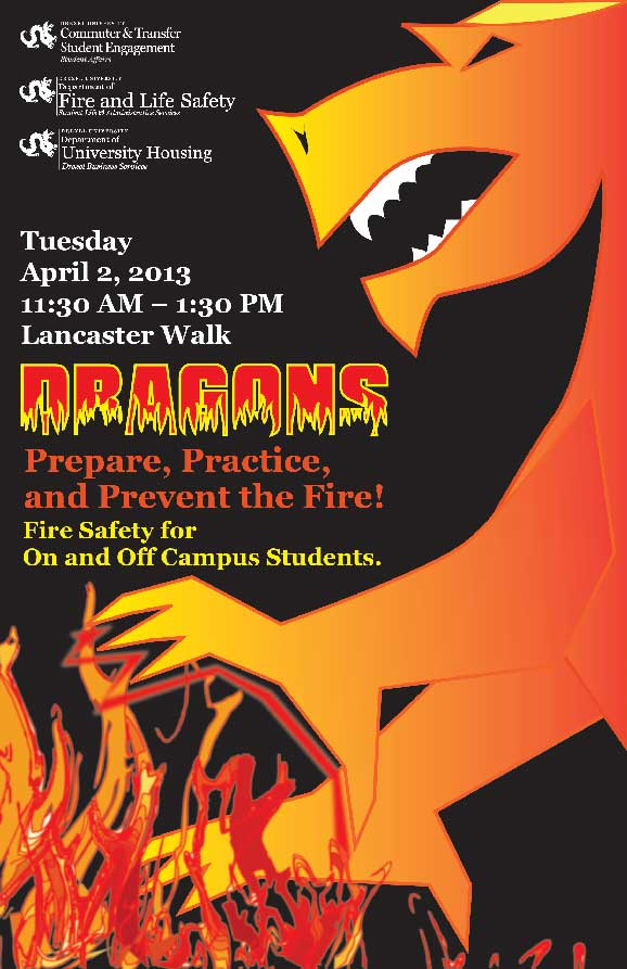 Drexel's Fire Safety Event