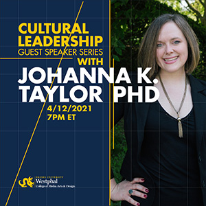 Cultural Leadership Speaker Series Graphic
