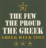 Greek Week 2013 logo
