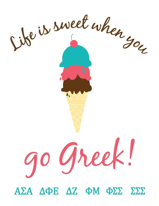 Life is sweet when you go Greek!