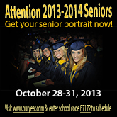 Senior Portrait Flier