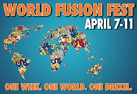 World Fusion Fest logo