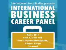 INTB Career Panel Flyer