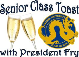 Senior Class Toast with President Fry