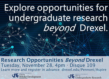 Research Opportunities Beyond Drexel image