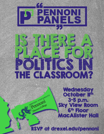 Pennoni Panels: Politics in the Classroom