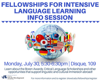 Fellowships for Language Learning