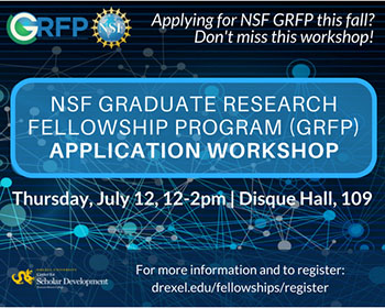 NSF GRFP Workshop