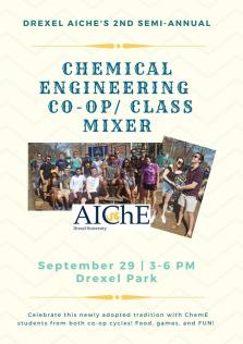 Drexel AIChE's 2nd Annual Chemical Engineering Co-op/Class Mixer image