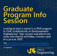 Prospective Graduate Student Information Session (CAEE) image
