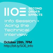 SOE Info Session + 'Acing the Technical Interview' image