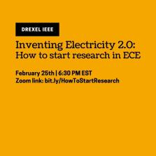 Inventing Electricity 2.0: How to Start Research in ECE image