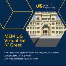 MEM UG Virtual Eat N' Greet image
