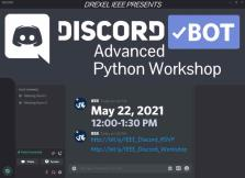 Discord Bots: An Adv. Python Workshop image